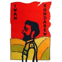 Iwan Kondarew Jerzy Flisak polski plakat