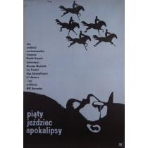 Piąty Jeździec Apokalipsy Jerzy Flisak polski plakat