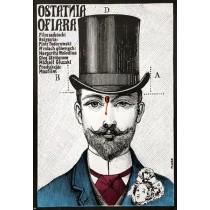 Ostatnia ofiara Jerzy Flisak polski plakat