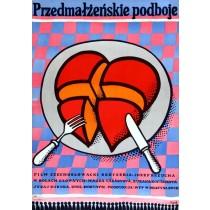 Przemałżeńskie podboje Jerzy Flisak polski plakat