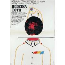 Rodzina Toth Jerzy Flisak polski plakat
