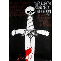 Powrót Robin Hooda Jerzy Flisak polski plakat