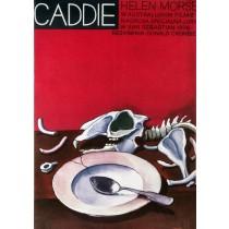Caddie Jerzy Flisak polski plakat