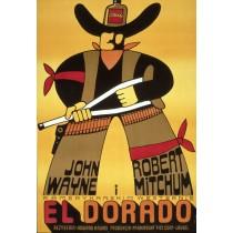 El Dorado Jerzy Flisak polski plakat