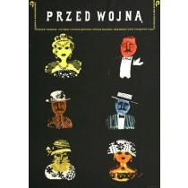 Przed wojną Jerzy Flisak polski plakat