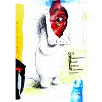 Biennale Ekslibrisu Malbork - 17 Eugeniusz Get Stankiewicz polski plakat
