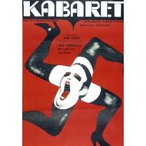 Kabaret Bob Fosse Wiktor Górka polski plakat