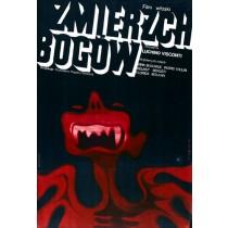 Zmierzch bogów Luchino Visconti Wiktor Górka polski plakat