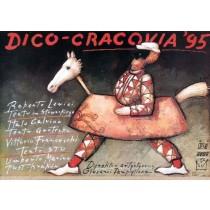 Dico-Cracovia 95 Mieczysław Górowski polski plakat