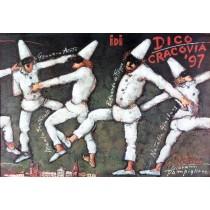Dico-Cracovia 97 Mieczysław Górowski polski plakat