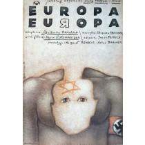 Europa, Europa Agnieszka Holland Mieczysław Górowski polski plakat