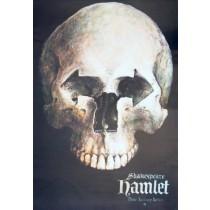 Hamlet - William Shakespeare Wiesław Grzegorczyk polski plakat