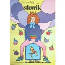 Słowik Nadezhda Kosheverova Maria Ihnatowicz polski plakat