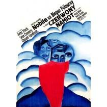 Czerwony namiot Mikhail Kalatozov Maria Ihnatowicz polski plakat