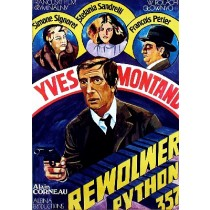 Rewolwer Python 357 Alain Corneau Maria Ihnatowicz polski plakat