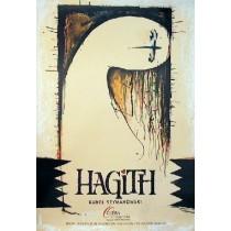 Hagith Ryszard Kaja polski plakat