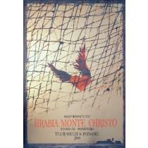 Hrabia Monte Christo Ryszard Kaja polski plakat