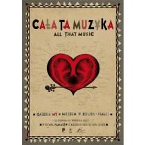 Cała ta muzyka Ryszard Kaja polski plakat