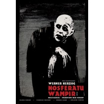 Nosferatu Wampir Nosferatu, Phantom der Nacht Ryszard Kaja polski plakat