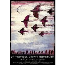 Festiwal Muzyki Kameralnej Rybna VII.  Ryszard Kaja polski plakat