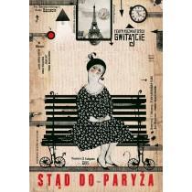 Gwitajcie Teatr Rozmaitości Ryszard Kaja polski plakat