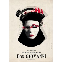 Don Giovanni Ryszard Kaja polski plakat