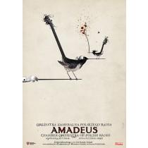 Amadeus Orkiestra Kameralna Polskiego Radia Ryszard Kaja polski plakat