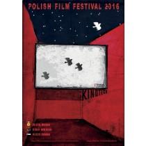 Kinoteka Polish Film Festival Ryszard Kaja polski plakat