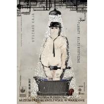 Plakaty kulturystyczne - w Łazienkach Królewskich Ryszard Kaja polski plakat