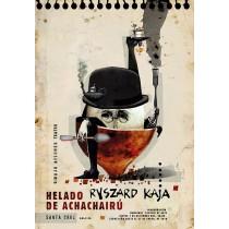 Helado de achachairú Ryszard Kaja polski plakat
