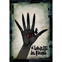 El Laberinto del Fauno Guillermo del Toro Ryszard Kaja polski plakat