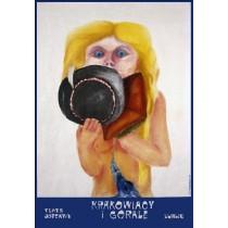 Krakowiacy i Górale, czyli cud mniemany Leonard Konopelski polski plakat