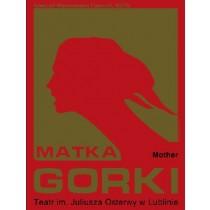 Matka Maxim Gorki Leonard Konopelski polski plakat