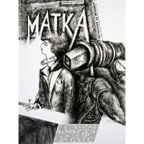 Matka Stanisław Ignacy Witkiewicz Witkacy Leonard Konopelski polski plakat