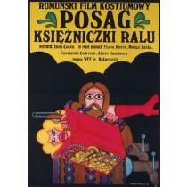 Posag księżniczki Ralu Andrzej Krajewski polski plakat