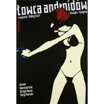 Łowca Androidów Ridley Scott Michał Książek polski plakat