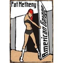 Pat Metheny - American Garage Michał Książek polski plakat