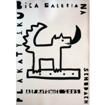 Galeria na schodach ASP Katowice Sebastian Kubica polski plakat