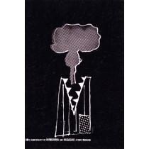 Hiroshima Nagasaki 60 lat Sebastian Kubica polski plakat