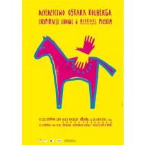 Dziedzictwo Oskara Kolberga Inspiracje ludowe Sebastian Kubica polski plakat