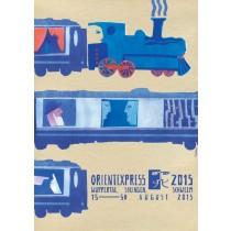 Orientexpress 2015 Sebastian Kubica polski plakat