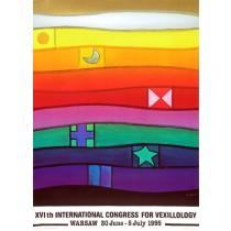 Międzynarodowy Kongres Weksylologiczny 16. Jan Lenica polski plakat