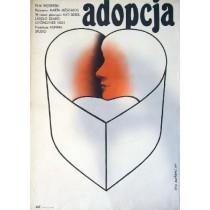 Adopcja Marta Meszaros Lech Majewski polski plakat