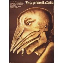 Wersja pułkownika Zorina Andrei Ladynin Lech Majewski polski plakat