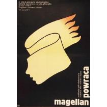 Magellan powraca Cristiana Nicolae Lech Majewski polski plakat