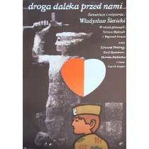 Droga daleka przed nami Jan Młodożeniec polski plakat