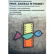 Ingo, zagraj w filmie Adolf Bergunker Jan Młodożeniec polski plakat