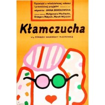 Kłamczucha Anna Sokołowska Jan Młodożeniec polski plakat