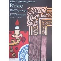 Pałac Tadeusz Junak Jan Młodożeniec polski plakat