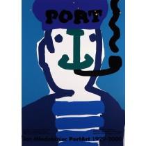 Port Jan Młodożeniec polski plakat